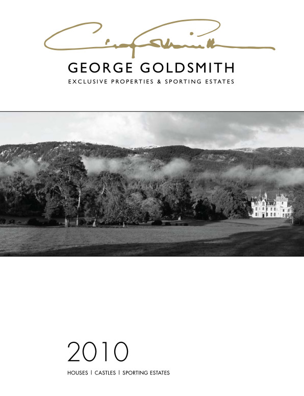 GEORGE GOLDSMITH 2010 BROCHURE