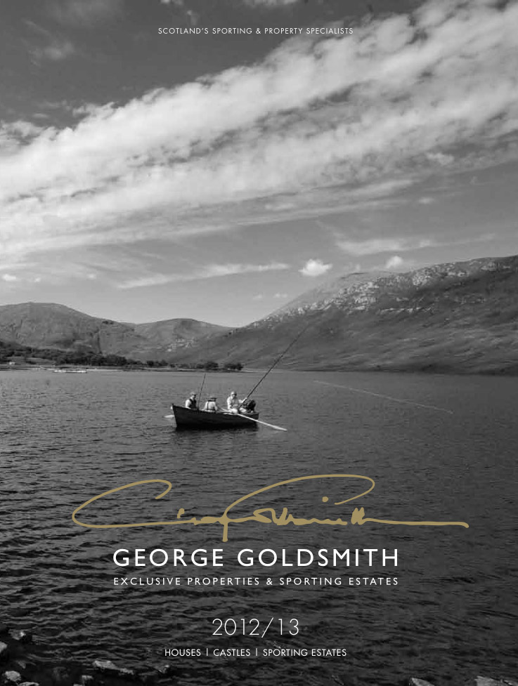 GEORGE GOLDSMITH 2012 BROCHURE